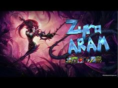Zyra ARAM - Ultimate Bravery - YouTube League Of Legends, Banner, Neon Signs, Videos, Youtube, Banner Stands, League Legends, Banners, Youtubers