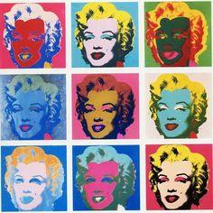 Marily Monroe. 1962. Acrílico e tinta de serigrafia sobre linho. Andy Warhol (Pittsburgh, PA, USA, 06/08/1928 - 22/02/1987, Nova York, NY, USA).  http://cribeo.lavanguardia.com/estilo_de_vida/2556/15-frases-miticas-de-andy-warhol
