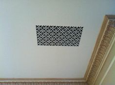 Decorative vent covers, grilles and registers. itter
