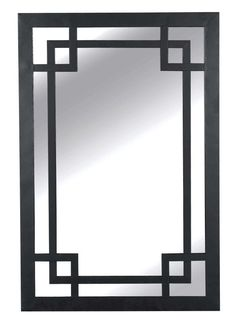 Kenroy Home 60097 Jacob Rectangular Mirror Dark Bronze Home Decor Mirrors Lighting