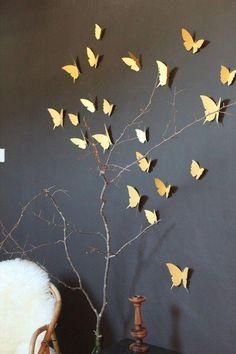 Une envolée de papillons - 11 inspirations tendance pour décorer nos murs
