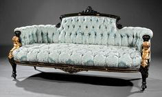 New York Carved Sofa : Lot 264