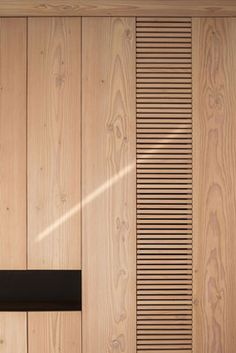 Amazing Timber Cladding Ideas to Spike up Your Building Design Timber Cladding, Wall Cladding, Cladding Ideas, Cladding Design, Timber Slats, Architecture Details, Interior Architecture, Joinery Details, Wall Finishes