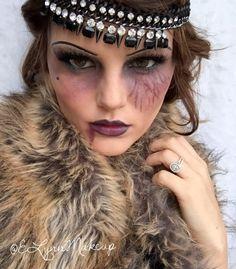 Dead Flapper #Halloween #ElynnMakeup