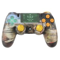 MorbidStix - The Fallout 4 PlayStation 4 Controller, $179.99 (http://www.morbidstix.com/the-fallout-4-playstation-4-controller/)