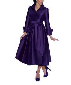 Loving this Purple Tie-Waist Maxi Dress - Women & Plus on #zulily! #zulilyfinds