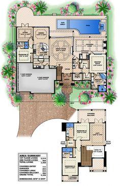 Coastal House Plan | Mystique House Plan - Weber Design Group