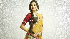 Do have a look at the #fashion-inspired cast of #Sarasawtichandra Star Plus! Kumud's chaniya choli