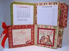 Christmas Organizer Tutorial by I Wanna Build a Memory