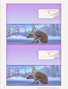 Lavender & Honey - Frozen Birthday Party - Sven Poop free printables