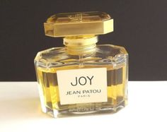 Vintage Perfume Joy Perfume Jean Patou Eau De Toilete 1.6 FL. OZ Bath Beauty Collectible Bottle