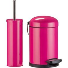 buy colourmatch slow closing bin brush set funky fuchsia at argosco - Funky Bathroom Accessories Uk
