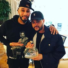 Congrats to my boy Abel for signing a contract deal with #greygoose 💎
