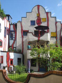 Hundertwasser haus - Vienna, Austria.