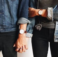 Classic men and women's daniel wellington. Click through and use the code for 15% off!!