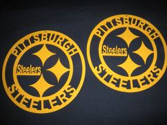 Pittsburgh Steelers Metal Sign (14 inches in diameter) by SPORTSMETALARTWORK on Etsy