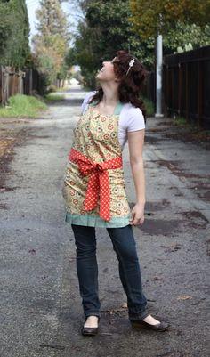 cute apron tute!