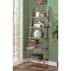 Riverside Lean Living Leaning Bookcase - 27737