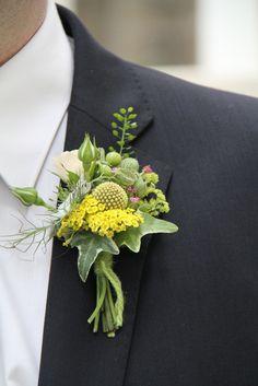 Flower Design Buttonhole & Corsage Blog