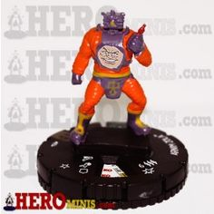 Arnim Zola is piece number 054 in the Marvel Comics Deadpool HeroClix set. This Super Rare piece costs 125 points, has a trait, a range of 6 with 3 targets and has 6 clicks of life. Arnim Zola has the HYDRA, Robot and Scientist keywords and the HYDRA team ability.
