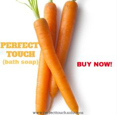 Vitamin A is an antioxidant that attacks free radicals and thereby prevents signs of aging like pigmentation, wrinkles and uneven skin tone. Carrots have beta-carotene that is a skin-friendly component converted into vitamin A inside the human body. Beta Carotene, Bath Soap, Uneven Skin Tone, Prevent Wrinkles, Dandruff, Human Body, Carrots, Vitamins, Hair Care