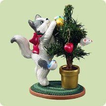 2004 Mischievous Kittens 6th  Hallmark Ornament at Ornament Mall