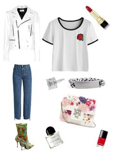 """""""Young and free"""" by explorer-14907853044 on Polyvore featuring мода, Vetements, Balenciaga, Yves Saint Laurent, Alexander McQueen, Maison Margiela, Dolce&Gabbana, Byredo и Chanel"""