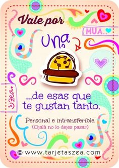 hamburguesa © ZEA www.tarjetaszea.com Birthday Images, Birthday Quotes, Love Gifts, Diy Gifts, Birthday Greetings, Happy Birthday, Girlfriend Humor, Happy B Day, Husband Quotes