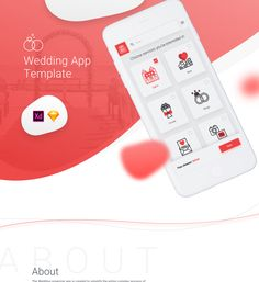 "Popatrz na ten projekt w @Behance: ""Wedding App Template Freebie + case-study"" https://www.behance.net/gallery/58387225/Wedding-App-Template-Freebie-case-study"