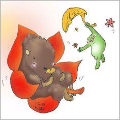 【Around midnight】今週は北野武さんのDolls借りました。なんでかこれは初めて見ました。watched Takeshi Kitano's Dolls today. one of the few films I haven't seen yet. #takeshikitano #drawing  #illust  #frog #autumnleaves #bison   #バイソン #かえる #動物 #animal #紅葉