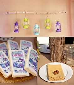 4fc920ad940 66 Best Camping theme wedding shower images