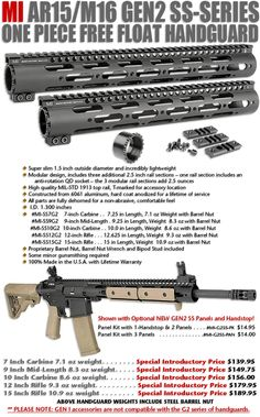 i like this SS-Series One Piece Free Float Handguard Ar Parts, Ar 15 Builds, Ar Build, Modular Design, One Piece, Building, Weapons, Guns, Mid Length