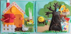 Fairy tale page - with various characters to create different stories