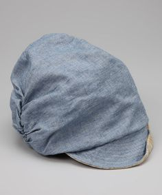 Take a look at this Blue Noah Casquette Cap by Grace Hats on #zulily today! $16.99