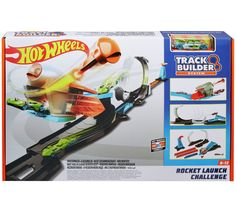 Buy Hot Wheels Track Builder Rocket Launch Challenge Playset at Argos. Thousands of products for same day delivery or fast store collection. Rocket Launch, Bedding Sets Online, Bed In A Bag, Surf Shop, Baby Clothes Shops, Stunts, Hot Wheels, Baby Shop, Baby Kids