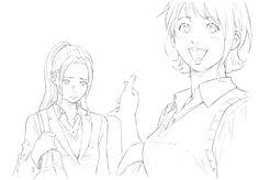 Webtoon, One Piece, Drawings, Girls, Anime, Living Alone, Manga Drawing, Toddler Girls, Daughters