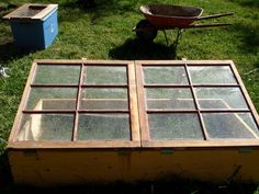 How to build a cold frame.