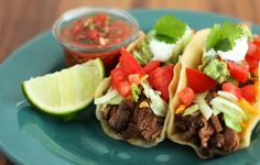 Beef Tacos Recipe from The Mexican Kitchen
