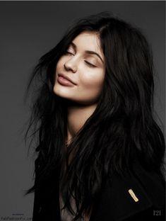 Gorgeous Kylie Jenner for Elle UK February 2016. #kyliejenner