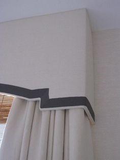 cornice board detail