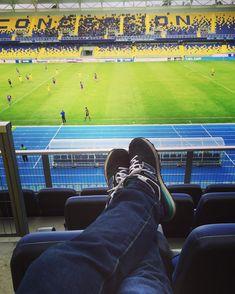 Por el estadio . . . . #estadioesterroa #instaconce #instachile #instagood #futbol