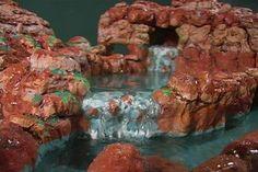 DIY Terrarium Waterfall Pool - PetDIYs.com