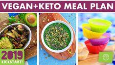 Soy Free Vegan Keto Meal Plan for the Day: 3 Meals Dessert | Mind Over Munch Keto Diet Drinks, Vegan Keto Diet, Diet Dinner Recipes, Keto Recipes, Dukan Diet, Diet Menu, Nutribullet, Keto Approved Foods, Keto Diet Vegetables