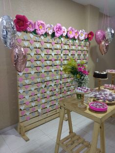 Photo Booth Backdrop, 1st Birthday Parties, Backdrops, Baby Shower, Holiday Decor, Floral, Party, Room, Home Decor