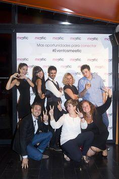 Los organizadores también queremos posar en el photocall #eventosmeetic