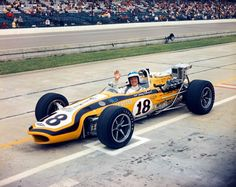 Johnny Rutherford 1968