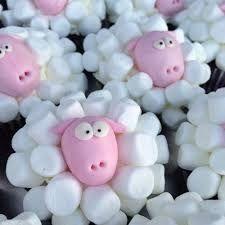 Risultati immagini per decorazioni di marshmallow
