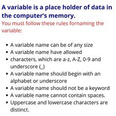What is a variable in programming language? Variable definition Java Tutorial, Variables, Definitions, Names