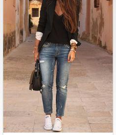 Lässige Mode