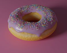 New Blender - new donut! Working On Myself, New Work, Donuts, Behance, Profile, 3d, Gallery, Check, Desserts